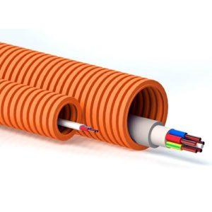 Труби гофровані для кабелю