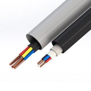 Жесткие трубы ПВХ для кабеля