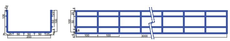 Сетчатый лоток для кабеля Flexel — allelectro.com.ua