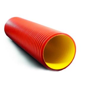 Doublecoat corrugated pipes
