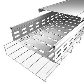 Metal cable trays Depth 35 mm