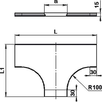 Крышка Т-отвода SCaT