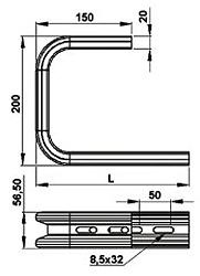 Кронштейн настенно-потолочный SCaT