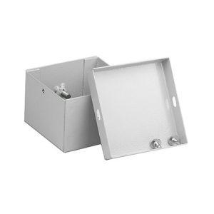 Стальная соединительная коробка электромонтажная