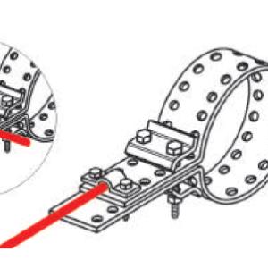 Держатели для труб 220-570 мм